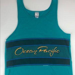 90s Surf Tank Top Ocean Pacific vintage